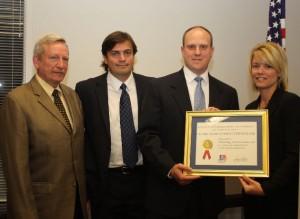 Wheeling Truck Center Awarded Export Certificate